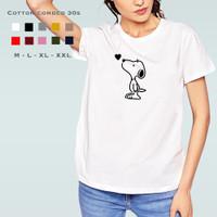 Kaos Wanita KK25 / Tshirt Katun Combed 30s / Tumblr Tee