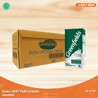 Susu Greenfields UHT Full Cream 1000 ml (12 pcs/1Karton)