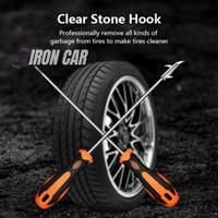 Clear Stone Hook / Obeng Pembersih Batu Ban Mobil