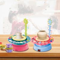 Mainan Edukasi Anak Kerajinan Tanah Liat Clay Set Lengkap +Cat +Apron