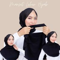 Manset Leher Hijab Dalaman Baju Spandek Kaos Inner Penutup Dada Bahu