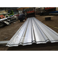 Atap Spandex KR5 KR9 silver   SPANDEK   SPANDEKS   atap galvalum