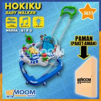 Baby Walker Hokiku 3837 Music - Biru