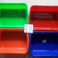 bak pasir persegi kotak litter box cat toilet kucing size L
