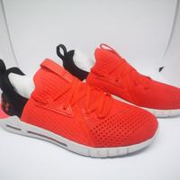 Sepatu Running Under Armour UA HOVR™ SLK EVO Perf Suede Red Original