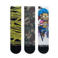 3 Set Crew Socks - Baddas