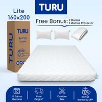 Kasur Base Support Foam TURU LITE ukuran 160x200 (Queen) FREE BANTAL