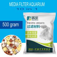 Media Filter Akuarium Aquarium Aquablue Rumah Bakteri Penjernih Air