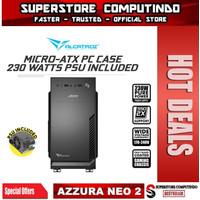 Alcatroz Azzura Neo 2 Micro-ATX PC Case