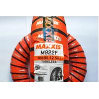 Ban DEPAN SCOOPY FREEGO Maxxis M922F Uk 100 / 90 -12 Tubeless