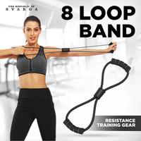 Svarga 8 Loop Band | Figure 8 Resistance Band | Gym & Fitness