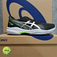 Sepatu Tenis Asics Gel Game 8 Black / Pure Silver - 39.5