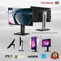 Monitor LED 24 ViewSonic VG2455  IPS USB-C Ergonomic Full HD