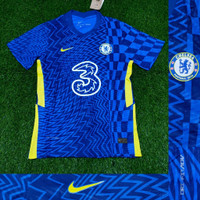 JERSEY BOLA CHELSEA HOME 2021-2022 PLAYER ISSUE VAPORKNIT TOP QUALITY