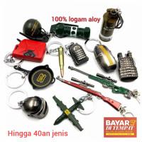 Gantungan Kunci PUBG (Big Key AWM 98K M416 PAN 1kg 30n)