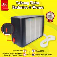 Tabung Tinta 100ml Exlcusive Seri Epson Infus Printer Canon HP Brother