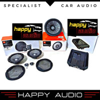 Paket Audio Mobil FullSet JBL By Harman Kardon Speaker Split 4 Channel