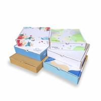 Box Hampers 21x21x4,5 cm LS Idul Fitri Kardus/Karton/Hampers/Parcel/