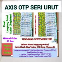 Kartu Perdana Axis OTP Seri Urut