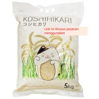 beras jepang koshihikari / beras sushi koshihikari 5 kg