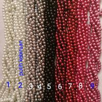 Mutsin / Mutiara Sintetis 6mm per Renteng
