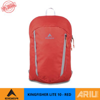 Eiger 1989 Ransel kingfisher 10L Red - 4552004