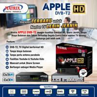 receiver antena / decoder apple dvb-t2 garuda matrix - Merah
