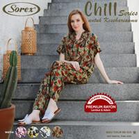 Sorex Baju Tidur Set Atasan+Celana Panjang Chill Series Piyama BB 505