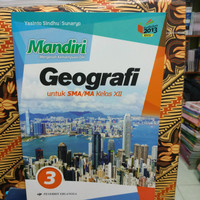 buku mandiri geografi kelas 12 SMA Erlangga