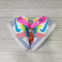 Sepatu anak / NIKE AIR JORDAN / Multicolor Abu Biru 21-35 - 33
