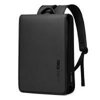 Tas Bange BG7252 Bag Backpack Ransel Kantor Slim Tipis Laptop 14 Inch - Black