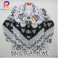 Baju Seragam PGRI Wanita Katun Panjang