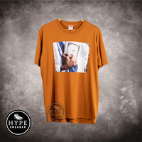 Kaos SUPREME Bible Orange Tshirt 100% ORIGINAL - M