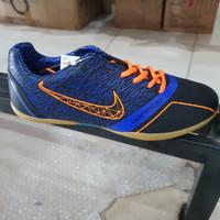 promo sepatu futsal ogardo aguero warna hitam biru ORIGINAL