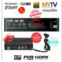 Set Top Box Tv Tuner Receiver 1080 DVB-T2 Wifi Dongle Support Youtube
