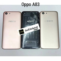 Backdoor Backcover Oppo A83 tutup baterai tutup belakang oppo a83 - Rose Gold