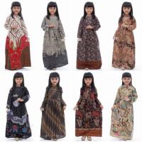 Baju Gamis Batik Anak Perempuan Umur 3-12 Tahun Modern / Drek Kondanga