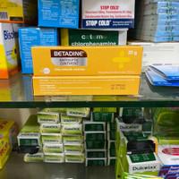 Betadine salep antiseptik untuk luka 20g