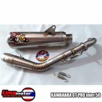 Knalpot KAWAHARA GT PRO inlet 50 Nmax old Nmax new Aerox