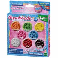 Aqua Beads Mainan Edukasi Aquabeads Solid Bead Pack Refill Mainan Eduk