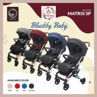 Stroller Babyelle Matrix SP S-216 Kereta Dorong Bayi Baby Elle Cabin - Dark Grey