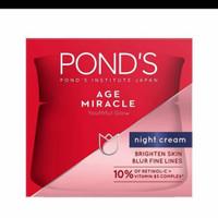 pond's age miracle night,malam cream 50g
