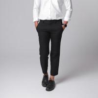 Broodis Celana Ankle Black Pants Best Seller - 29, Ankle Black