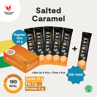Strive rasa Salted Caramel 1 Box isi 6pcs