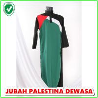 JUBAH Pria Dewasa Murah Palestina Warna Hitam Baju Gamis laki laki fas
