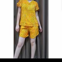 Baju Tidur Batik Anita Baby Doll Celana Pendek Size S Mini