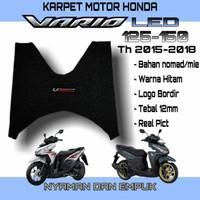 KARPET MOTOR HONDA VARIO LED 125 150 BAHAN NOMED SERABUT MIE BIHUN