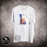 Kaos SUPREME Bible Grey Tshirt 100% ORIGINAL - M