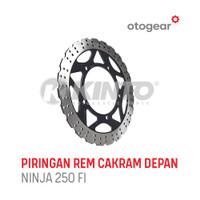 Piringan rem cakram depan disc brake NINJA-250 FI merk KINTO
