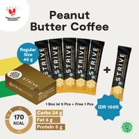 Strive rasa Peanut Butter Coffee 1 Box isi 6pcs
